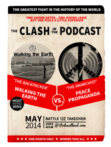 Clash of the Podcast Poster